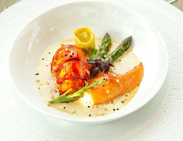 Résidence Miramar La Cigale Thalasso & Spa - Cuisine du restaurant de l hotel le miramar