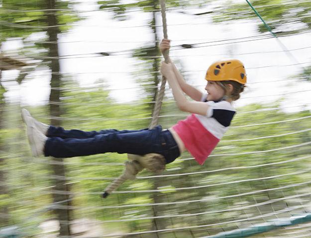 Center Parcs Domaine les Bois-Francs - Parcours aventure