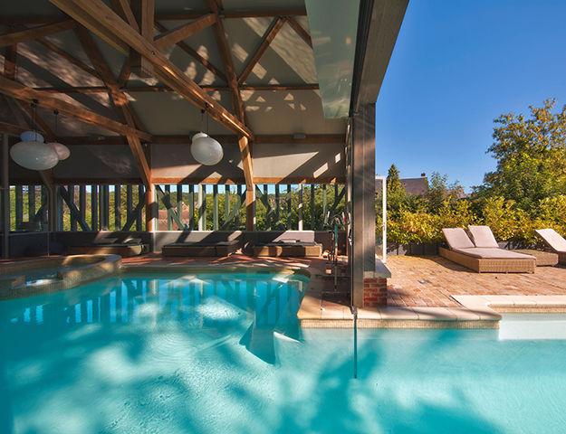 La Licorne Hôtel & Spa - Piscine du spa