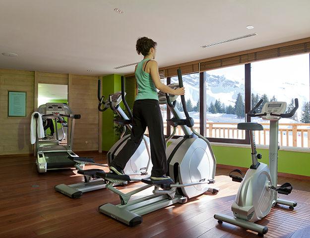 Résidence Pierre & Vacances Premium L'Amara Avoriaz - Salle de fitness