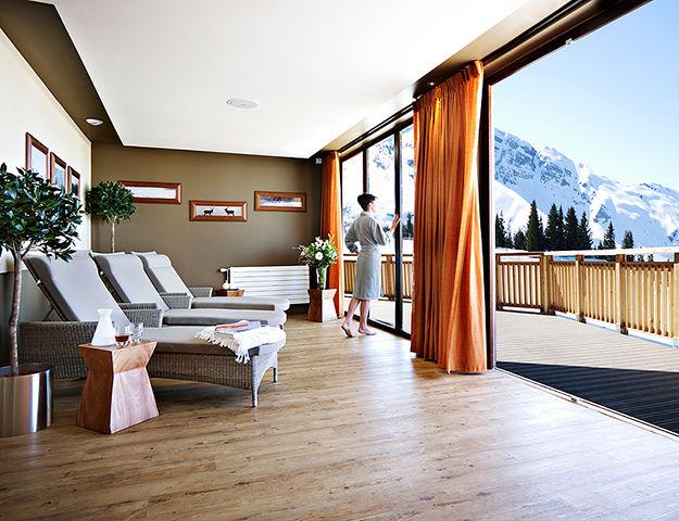 Résidence Pierre & Vacances Premium L'Amara Avoriaz - Spa salle de relaxation