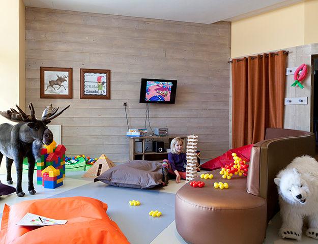 Résidence Pierre & Vacances Premium L'Amara Avoriaz - Aire de jeux pour enfants