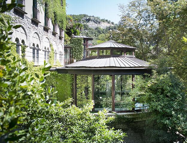 Grand Hôtel de Molitg & Spa - Piscine thermale vue exterieure