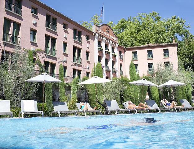 Grand Hôtel de Molitg & Spa - Piscine exterieure