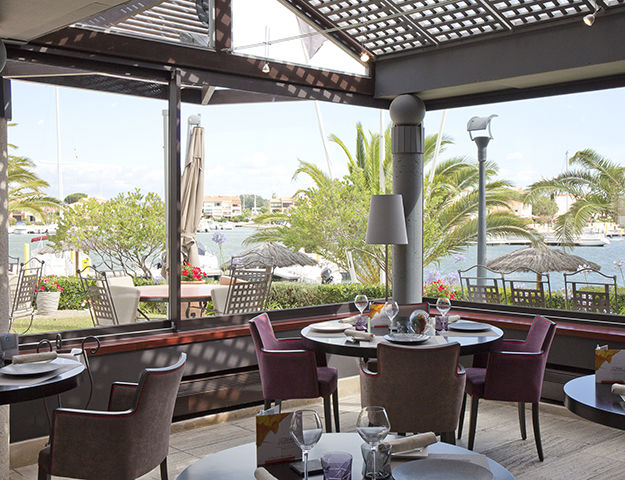 Relais et Châteaux Ile de la Lagune - Restaurant almandin