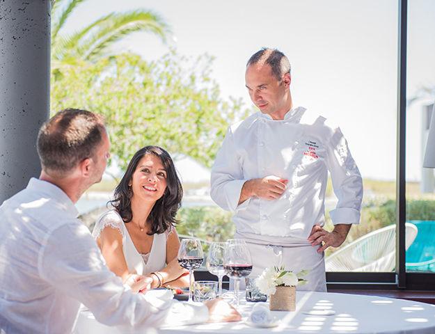 Relais et Châteaux Ile de la Lagune - Restaurant l almandin