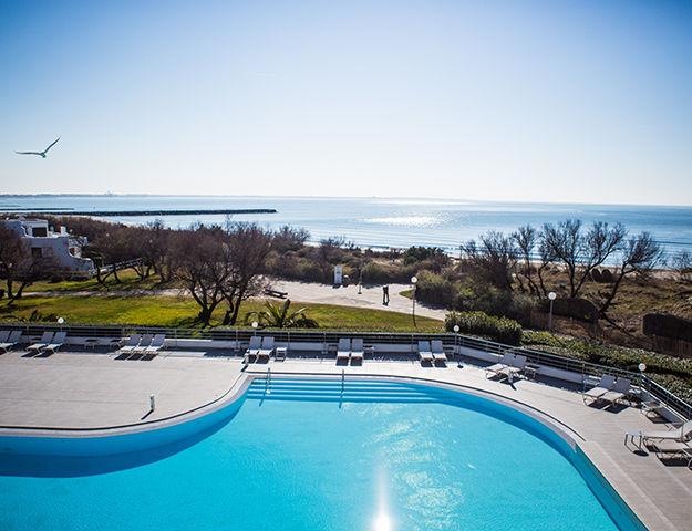 Corallines Thalasso la Grande Motte - Hotel et piscine