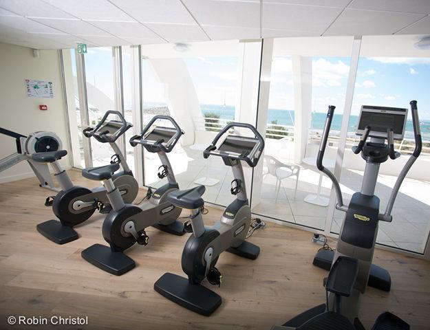 Corallines Thalasso la Grande Motte - Salle de fitness vue mer