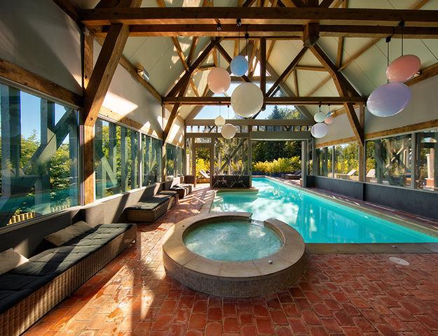 Hôtel du Grand Cerf & Spa - Piscine et spa