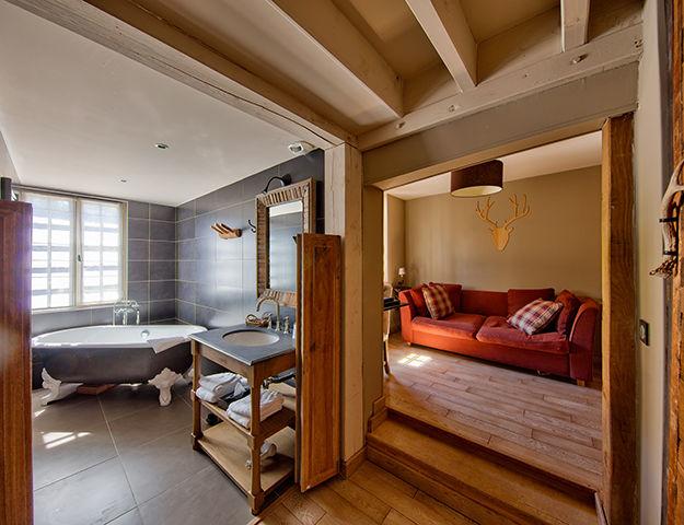 Hôtel du Grand Cerf & Spa - Salle de bain suite