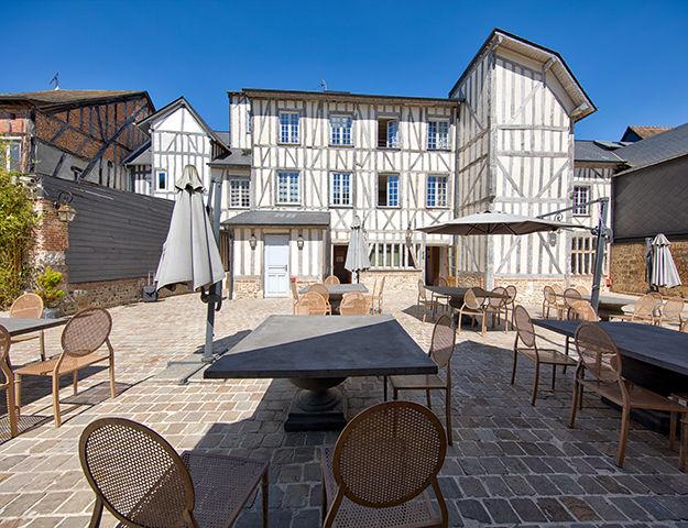 Hôtel du Grand Cerf & Spa - Terrasse
