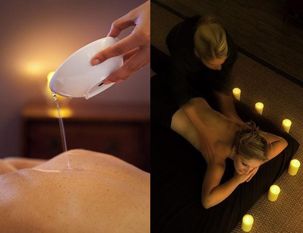 Mercure Fréjus - Massage a la bougie