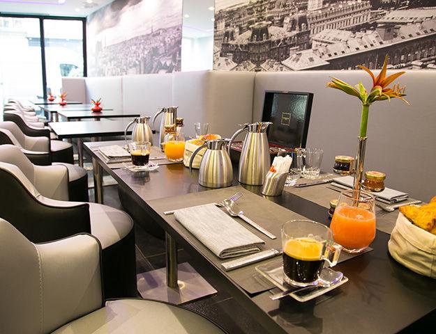 L'Empire Paris - Petit dejeuner