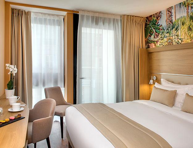 Les Jardins de Mademoiselle Hôtel & Spa - Chambre confort