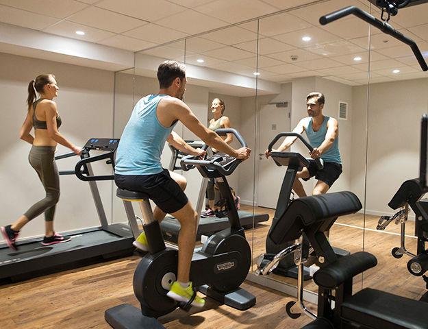 Les Jardins de Mademoiselle Hôtel & Spa - Salle de fitness