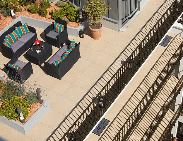 Les Jardins de Mademoiselle Hôtel & Spa - Terrasse