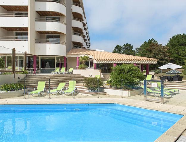 Atlantic Thalasso - Piscine hotel