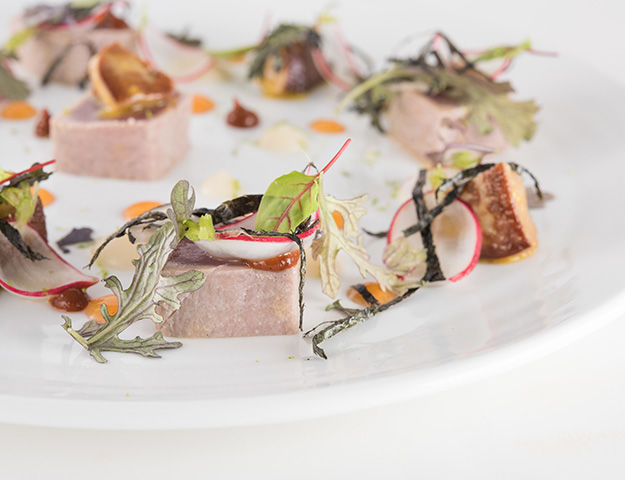 Thalazur Bandol - Plat du restaurant oliviers