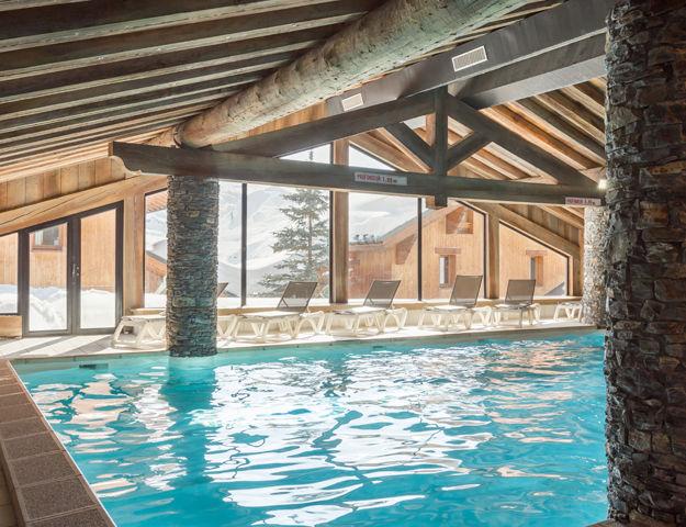 Résidence Premium Pierre et Vacances Les Alpages de Reberty  - Piscine