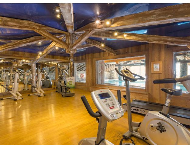 Résidence Premium Pierre et Vacances Les Alpages de Reberty  - Salle de fitness
