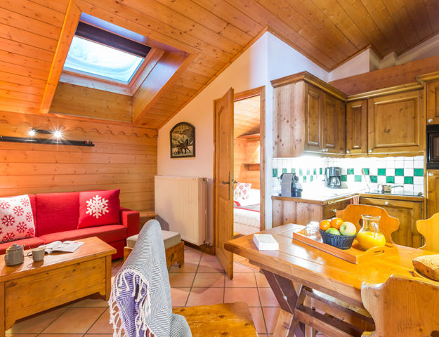Résidence Premium Pierre et Vacances Les Alpages de Reberty  - Appartement