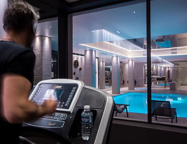 Hôtel & Spa Chassieu - Salle de fitness