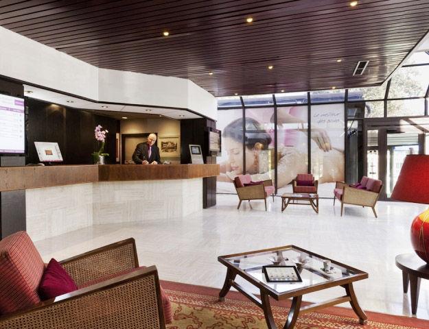 Mercure Hôtel & Spa Aix-les-Bains Domaine de Marlioz - Reception
