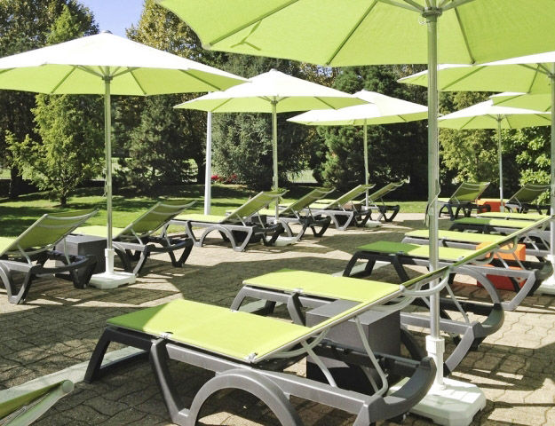 Mercure Hôtel & Spa Aix-les-Bains Domaine de Marlioz - Solarium