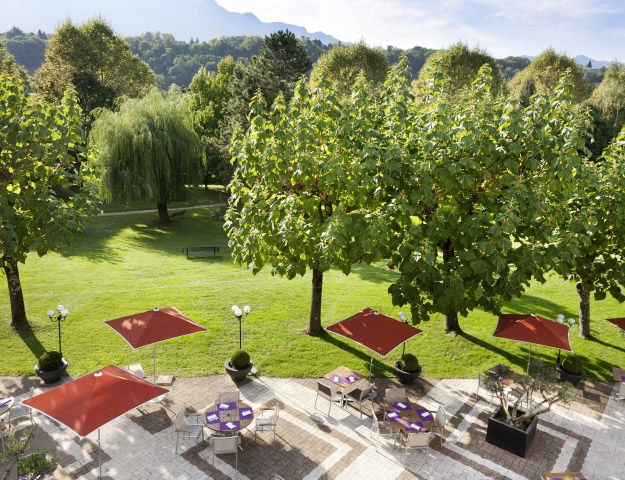 Mercure Hôtel & Spa Aix-les-Bains Domaine de Marlioz - Terrasse