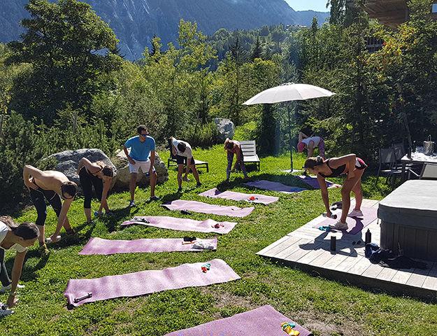 Quintessence Retraite Sport et Bien-être - Seance de fitness