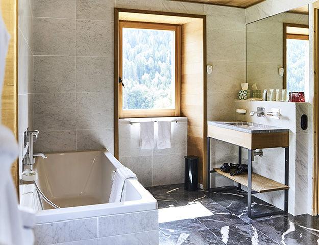Quintessence Retraite Sport et Bien-être - Salle de bain chambre deluxe