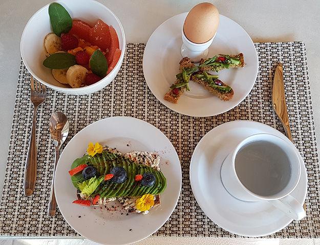 Quintessence Retraite Sport et Bien-être - Petit dejeuner