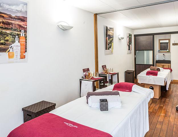 Résidence & Spa Vallorcine Mont-Blanc - Cabine de soins