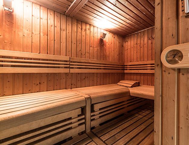 Résidence & Spa Vallorcine Mont-Blanc - Sauna