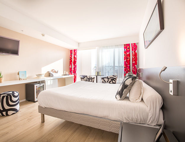 Serge Blanco Thalasso & Spa - Junior suite vue port