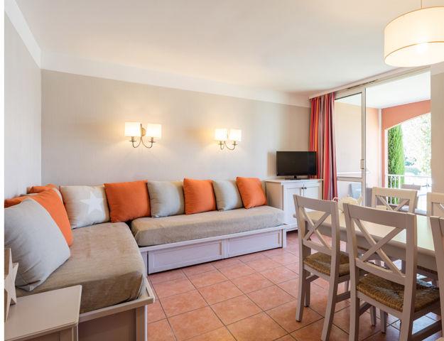 Résidence Premium Pierres et Vacances Les Rives de Cannes Mandelieu - Sejour appartement