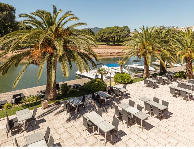 Résidence Premium Pierres et Vacances Les Rives de Cannes Mandelieu - Terrasse restaurant
