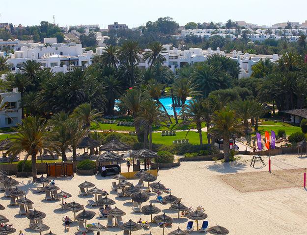 Odyssée Resort Thalasso & Spa Oriental - Plage et hotel