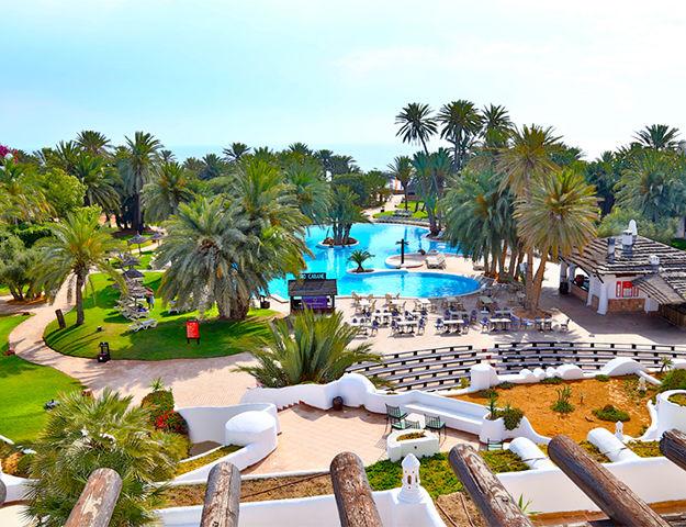Odyssée Resort Thalasso & Spa Oriental - Piscine et jardin