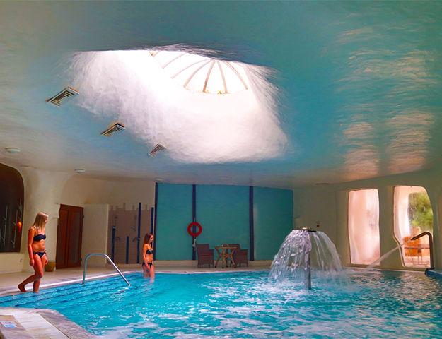 Odyssée Resort Thalasso & Spa Oriental - Piscine interieure thalasso